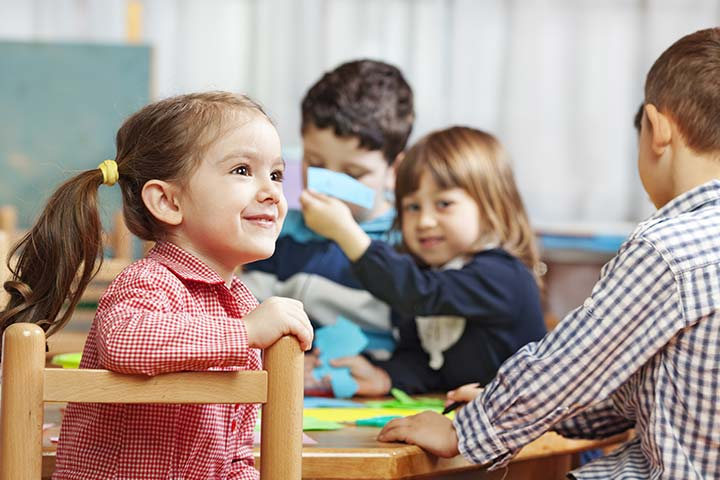 The benefits of sending your child to nursery school